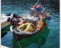 Fishing boat in Nissaki, Corfu