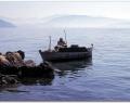 Fishing in Nissaki, Corfu