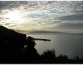 Viewing Mainland from Nissaki, Corfu